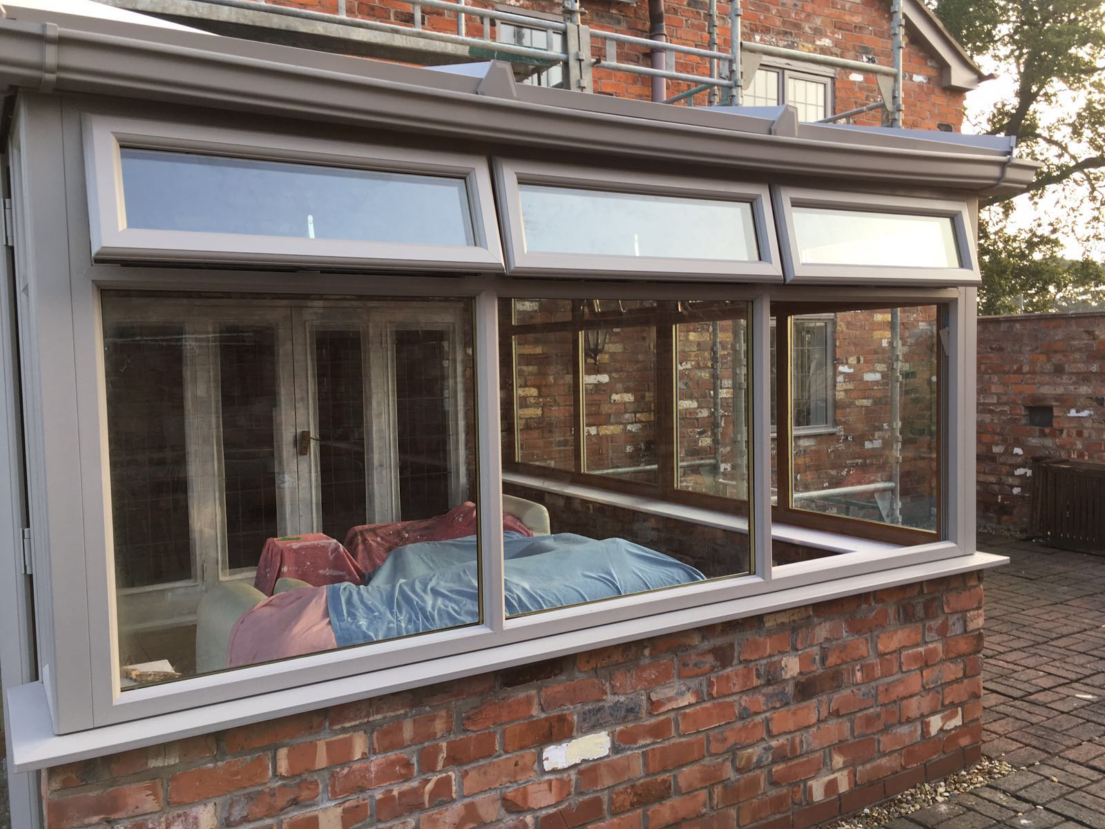 Conservatories Upvc Painted In Wrexham North Wales